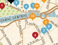 Mapa de Aveiro
