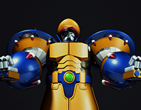 Megaman X Tribute Brazil - General X4