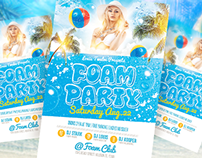 Foam Party v3 | Flyer + FB Cover