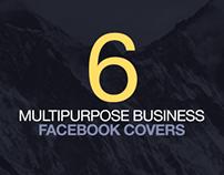 6 Multipurpose Business Facebook Covers
