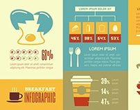 Food Infographic Templates and Elements