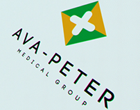 Ava-Peter Medical group logotype rebranding