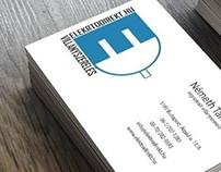 Electrician Service - Business Card