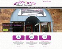 Laura's Essentials - Responsive Website