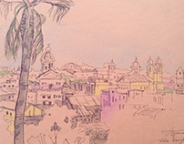 Rome Architectural sketching
