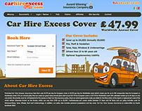 Car Hire Excess website
