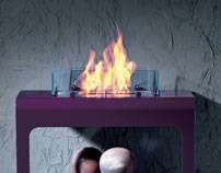 Open Fireplace for Brandoni