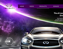 Mini site INFINITI Q50