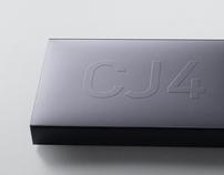 "Cessna ""CJ4"" Metal Book"