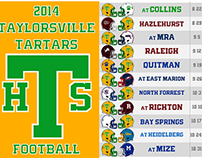 2014 Smith County Football Schedules