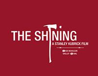 Kubrick's minimalist & bicolor movie posters