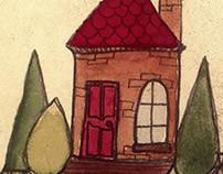 Tiny Houses Illustration