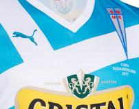 Camiseta Universidad Católica - Copa Sudamericana 2011