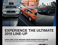 2015 BMW Direct Mail Piece