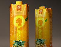 1 Liter Carton Packaging PSD Mock Up