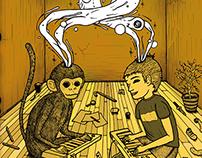 Johny Alen - Monokid / CD Art and Graphic Design