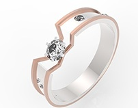 CAD Jewelry Design and Rendering