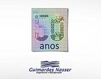 Selinho 50 anos Guimarães Nasser