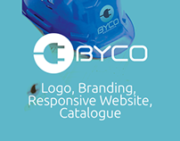 BYCO A.Ş. Branding, Website Design and Catalogue