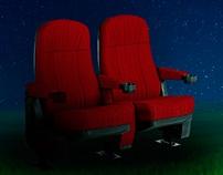 Afiche cine bajo las estrellas