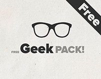 Free Vector Geek Pack