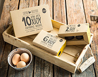 Pafylida Farm Packaging Range / Egg Packaging