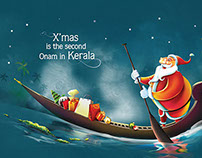 XMAS AD FOR VANITHA MAGAZINE
