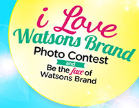 I Love Watsons Brand Photo Contest Facebook App