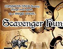 Poster Design for Scavenger Hunt