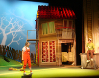 "Scenography for a play ""Rhino Otto"""