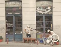 Cornetto Tandem Bike