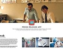 Press Release App