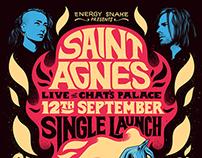 Saint Agnes Poster