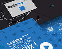 Radioline's video channel's animation: motion inc