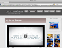 Oncologia Radiante Web site and Corporate Video