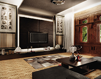 Interior design - Luxury apartment in Timisoara