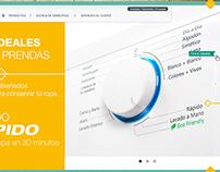Whirlpool Argentina - Website Mockup -