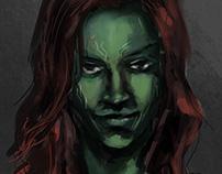 Speed paint : Gamora