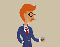 Like a sir. Animation - After Effects