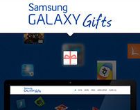 Samsung GALAXY Gifts Microsite