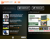 DonanımHaber - Smart TV Arayüzü (2012)