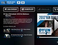 BölümSonuCanavarı - Smart TV Arayüzü (2012)