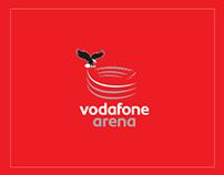Vodafone Arena - infographics