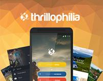 Thrillophilia.com - Android App Concept