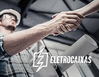 Branding Eletrocaixas Caixas de Concreto.