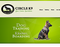 Circle K9 WordPress Website