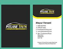 Pitlane Tints - Business Card