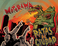 CD Jacket Art - MOTORAMA: Ratas de Ciudad