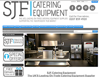 SJF Catering Logo & Button redesign