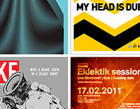 GIG POSTERS: 2010-2013